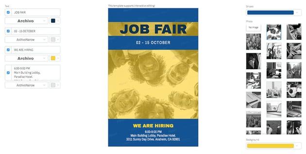 Recruitment Flyer Template for HR Firms