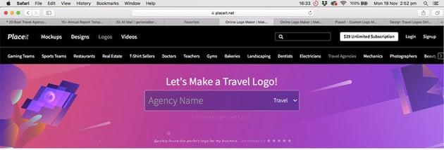 Online Logo Maker at Placeit