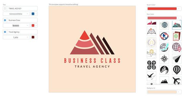 Logo Maker for Business Travel Agencies