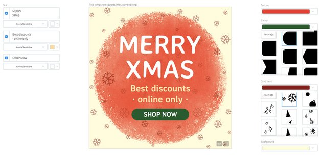 Christmas Sale Ad Generator