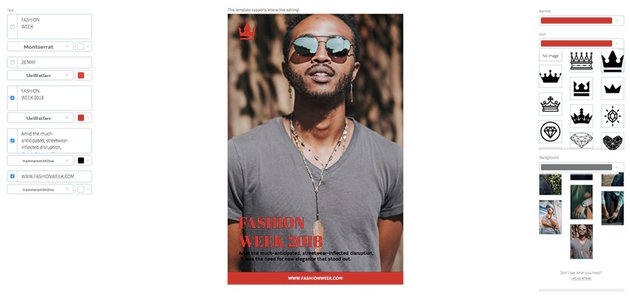Fashion Week Online Flyer Maker