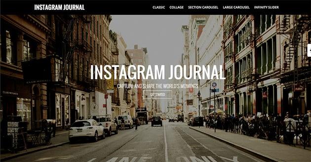 Instagram Journal