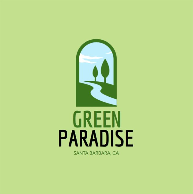 Landscaping Logo Maker with Vertical Layout