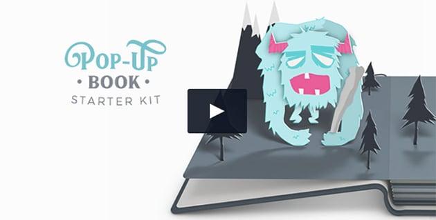 Pop-Up Book Starter Kit