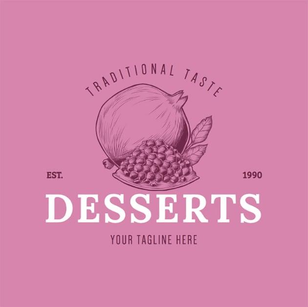 Logo Maker with Dessert Graphics