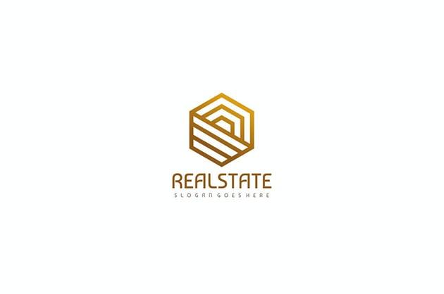 Luxury Real Estate Logo Idea Template