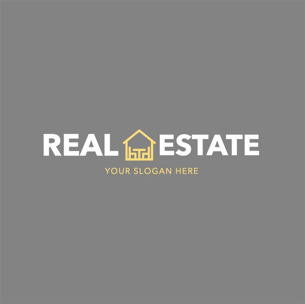 Simple Real Estate Agency Logo Maker