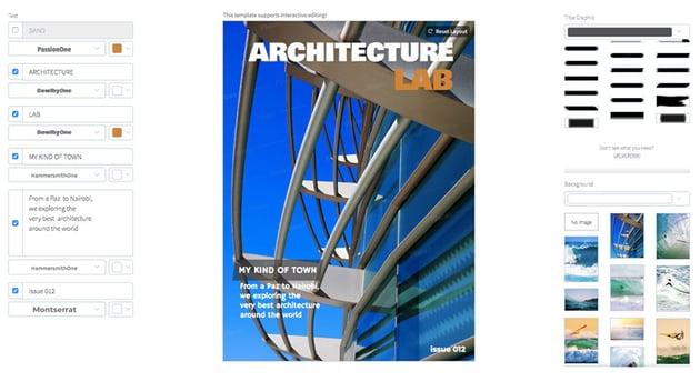 Architecture Magazine Cover