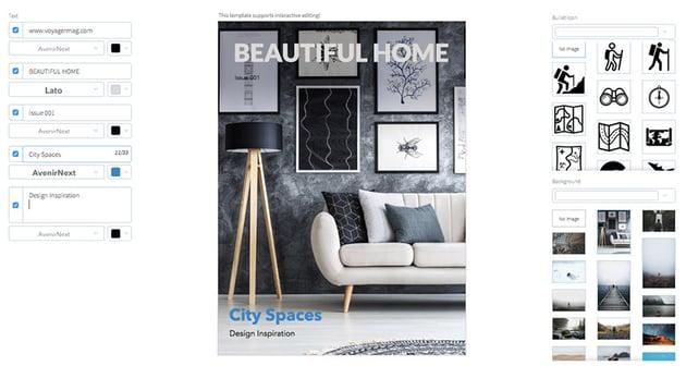 Interior Magazine Cover
