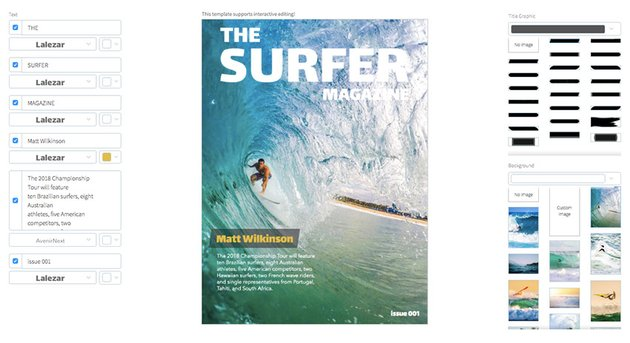Surfing Magazine Cover