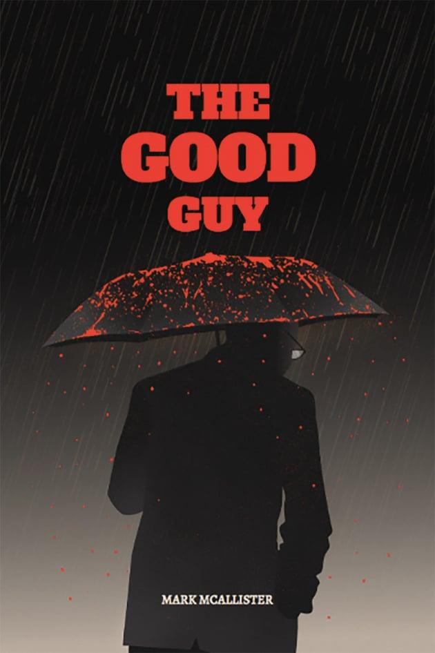 Book Cover Template for Crime Thriller Novel