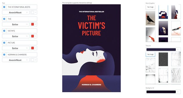 Crime Fiction Book Cover Maker