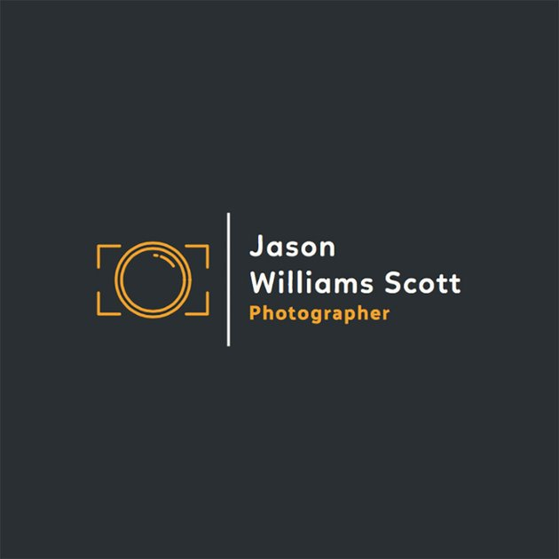 Online Logo Template for Professional Photographers