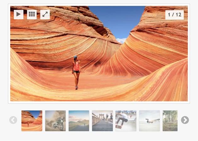 Global Gallery - Carrusel de imágenes para WordPress