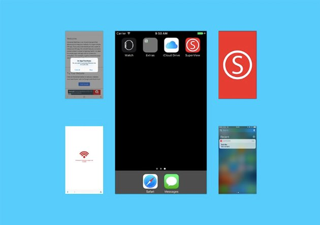SuperView iPhone and iPad Application Design Template
