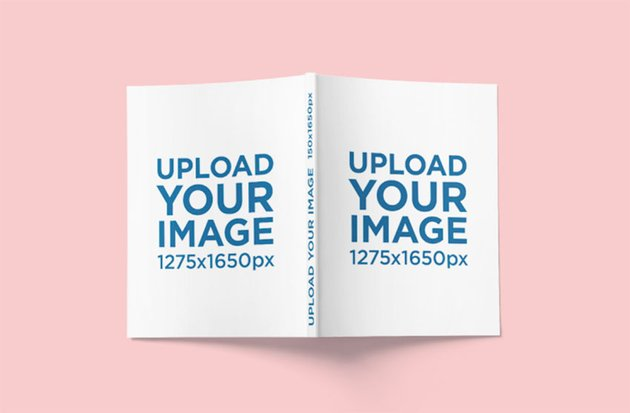 Magazine Mockup Template Featuring Front and Back Covers
