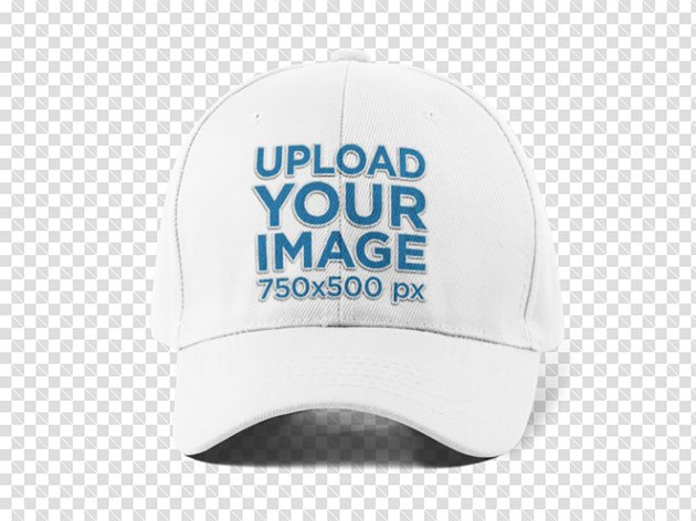 Front View of a Dad Hat PNG Mockup