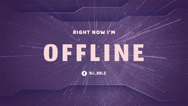 Simple Twitch Offline Banner Maker with Speed of Light Images