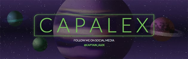Twitch Banner Generator with Space Visuals