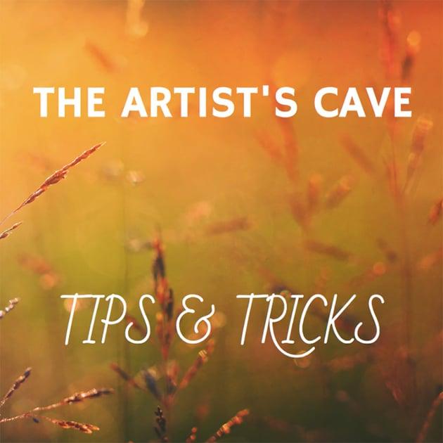 Social Media Post Template for Artist Tips