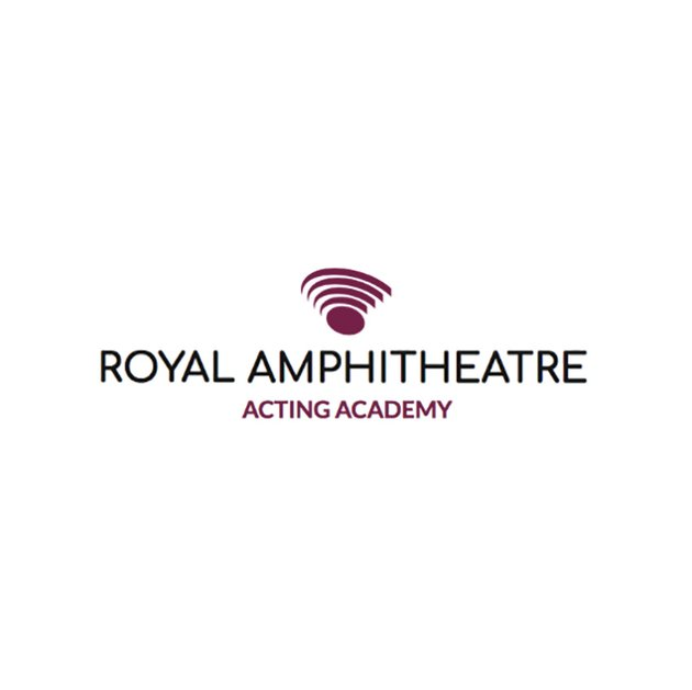 Custom Logo Maker for Acting Schools with Abstract Shapes