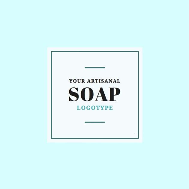 Handmade Soap Business Logo Maker