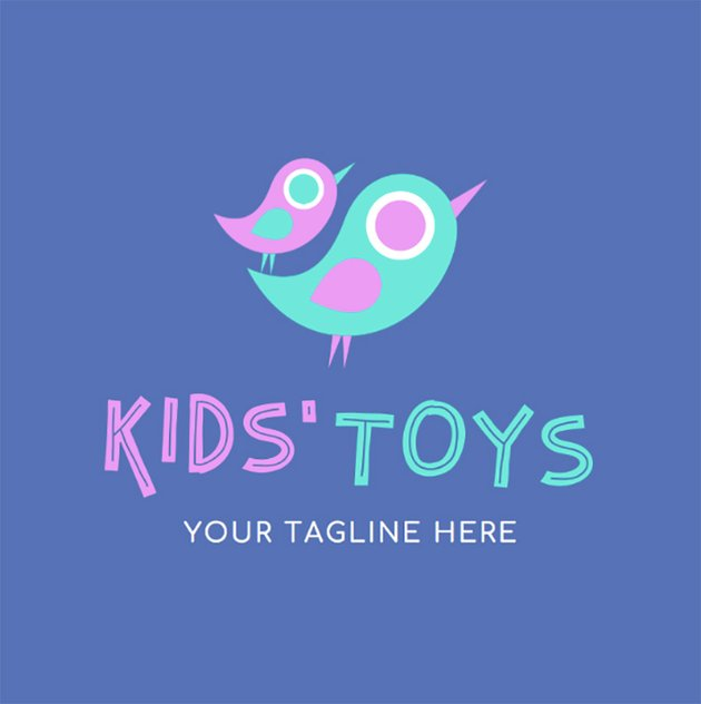 Kids Toys Logo Maker