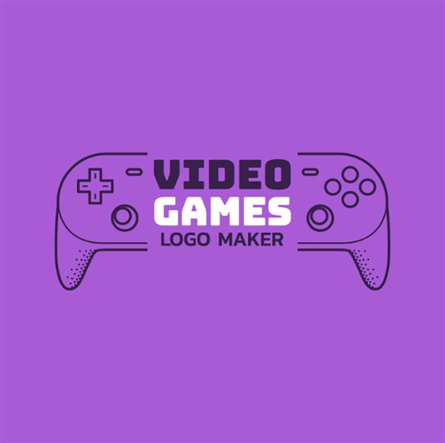 Youtube Gaming Channel Logo Template with Control Graphics