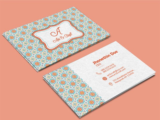 Craft Agency - Download Free Business Card Template
