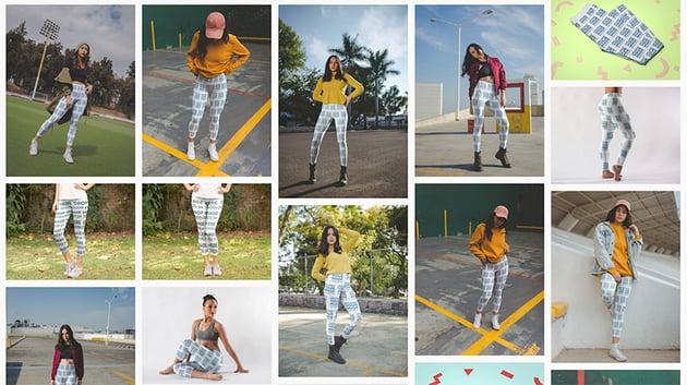 Select a 3d Leggings Mockup Template You Like