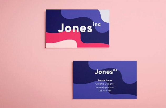 Adobe InDesign Business Card Templates