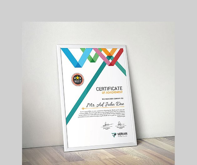 The Certificate