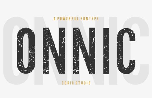 ONNIC Fonts