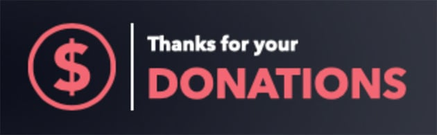 Twitch Donation Panel Template