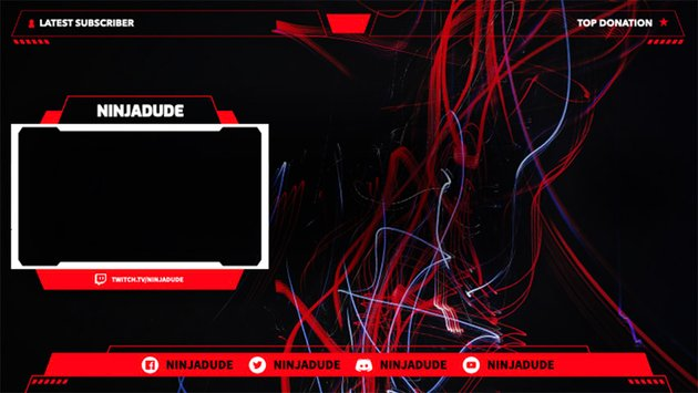 OBS Overlay Template for Twitch