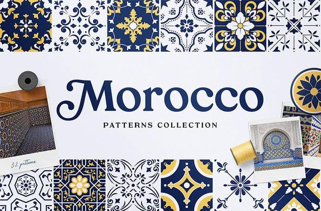 Moroccan Patterns and Ornaments Best Digital Scrapbook