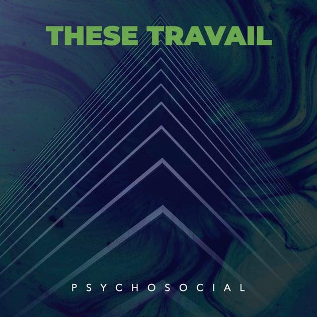 Psycho Rock Album Cover Template