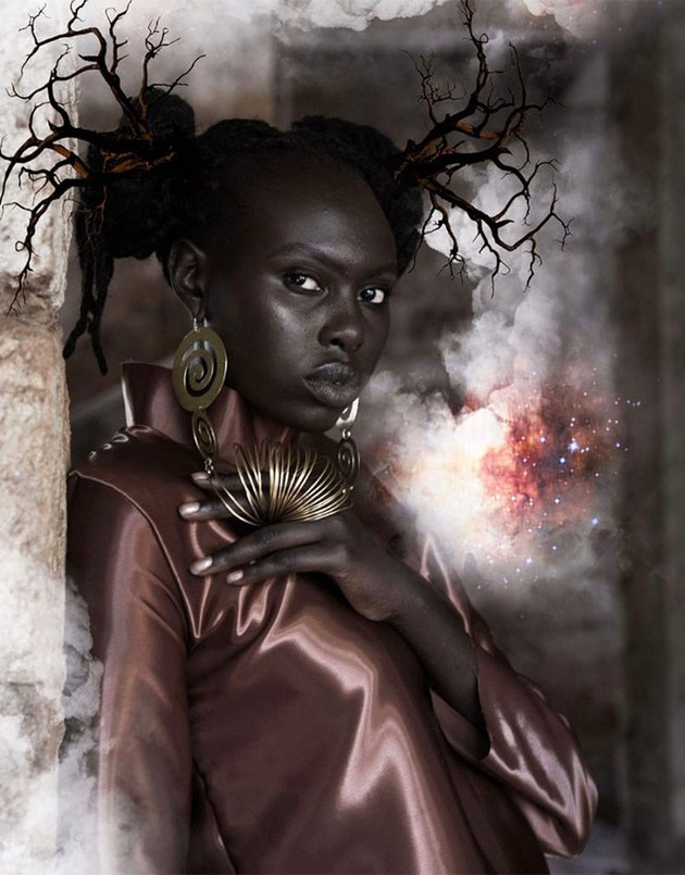 From the series Genisis by Kikuyu artist from Kenya Jacque Njeri