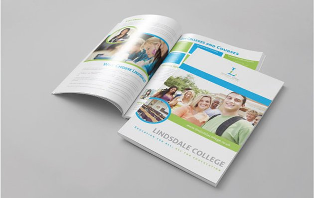 Educational Brochure Template Vol2