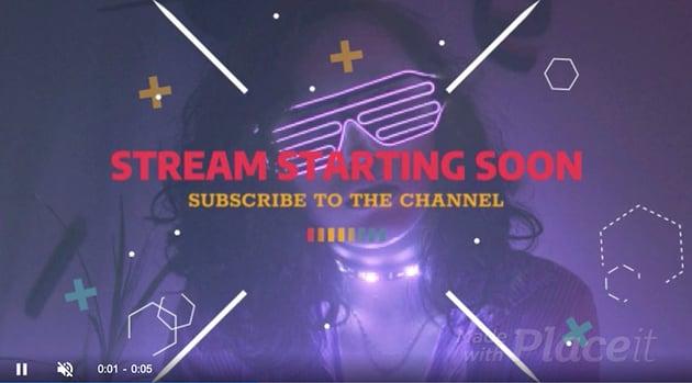 Stream Starting Soon Overlay