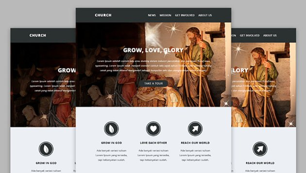 Church Missionaries e-Newsletter Templates