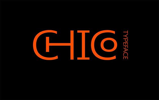 Chico - Free Monogram Font