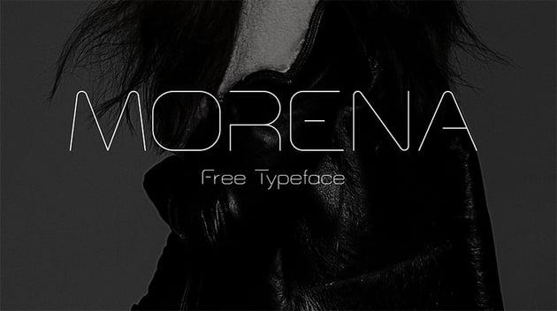 Morena Free Monogram Font Download