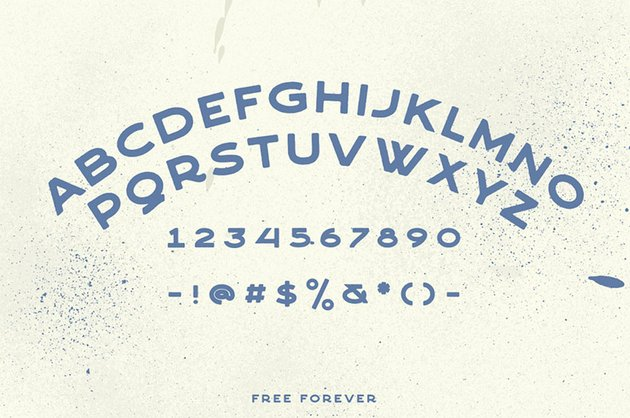 CRAFTER vintage number fonts