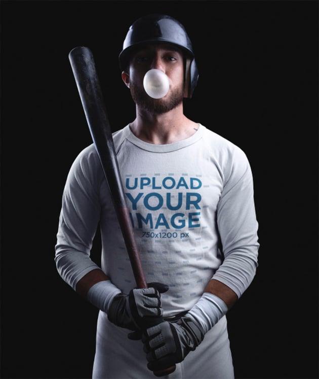 Sublimated Baseball Jersey Mockup