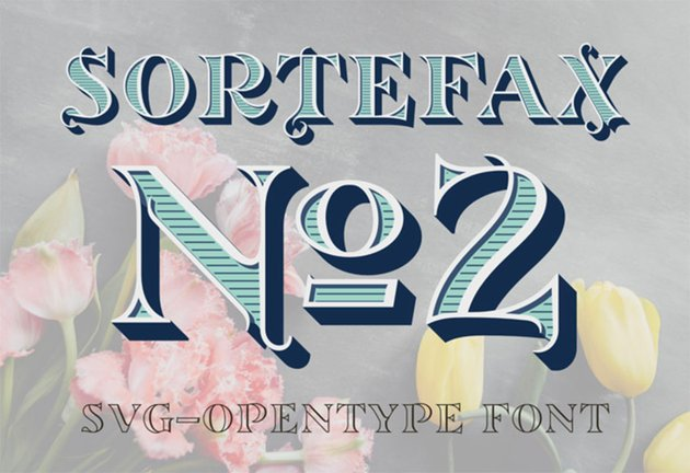 Sortefax No2 Font
