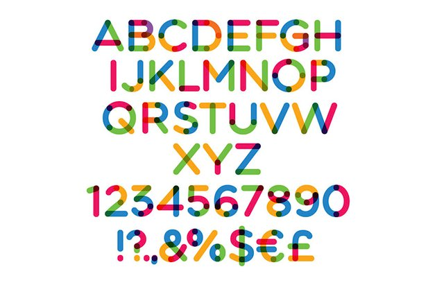 Multicolored SVG OpenType Font