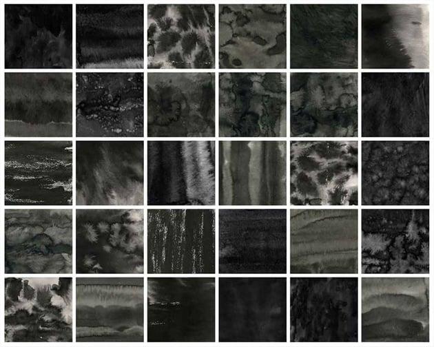 Black Ink Texture Brushes for Affinity Designer