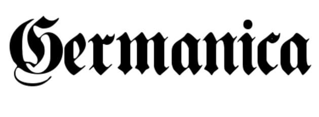 Germanica Tattoo Font