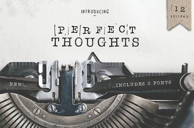 Perfect Typewriter Font Tattoo
